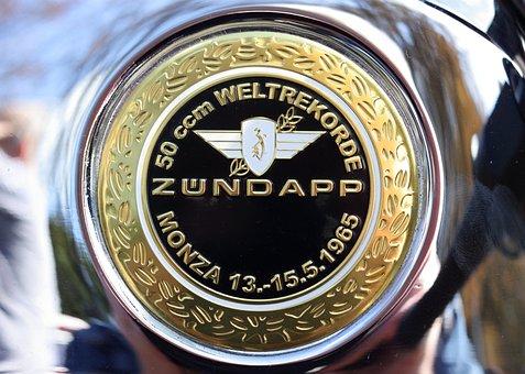 Moped, Tank, Logo, Zundapp, German, Woerden