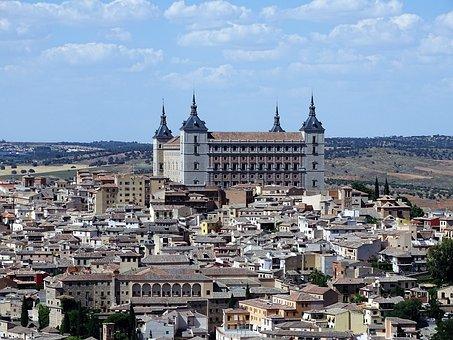 Toledo, Spain, Alcazar, Unesco World Heritage Site