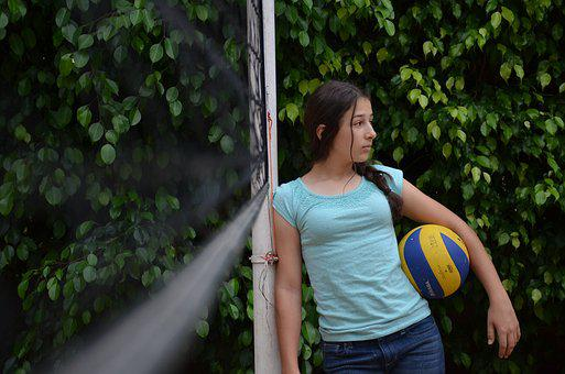 Volleyball, Sports, Ball, Competition, Play, Athletic