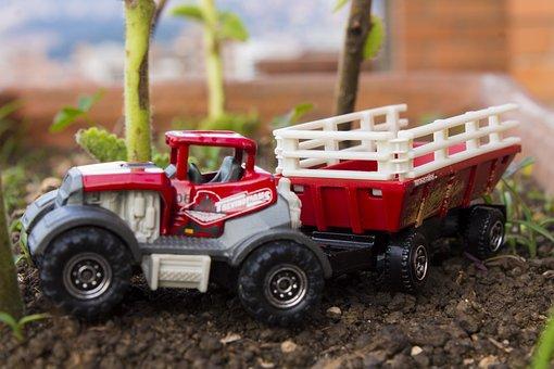 Camion, Volqueta, Work, Machinery, Civil Works, Working
