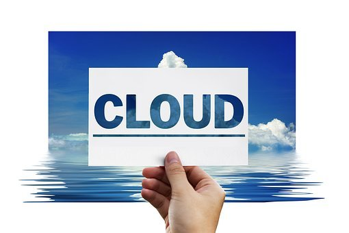 Cloud, Finger, Touch, Cloud Computing, Data Store