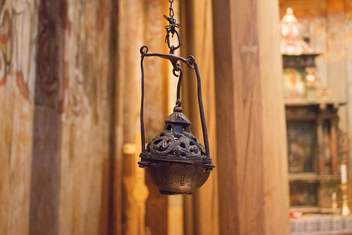 Lamp, Old, Church, Antique, Decorative, Decoration