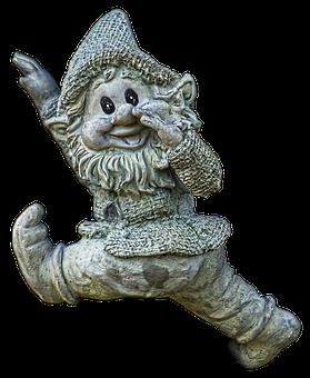 Dwarf, Gnome, Garden Gnome, Figure, Ceramic, Sculpture