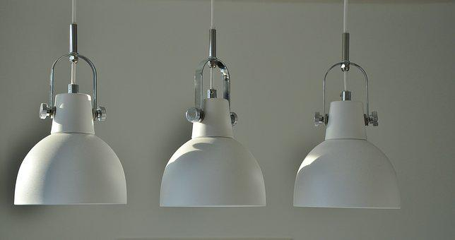 Lamp, Light, Bright, Electric, Electricity, White