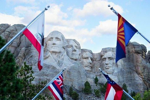 Mount Rushmore, Mt, Rushmore, Monument, Dakota