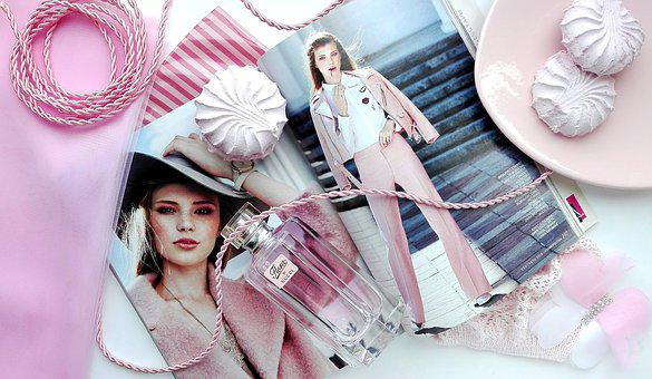 Pink, Magazine, Gloss, Zephyr, Sweet, Women, Fashion