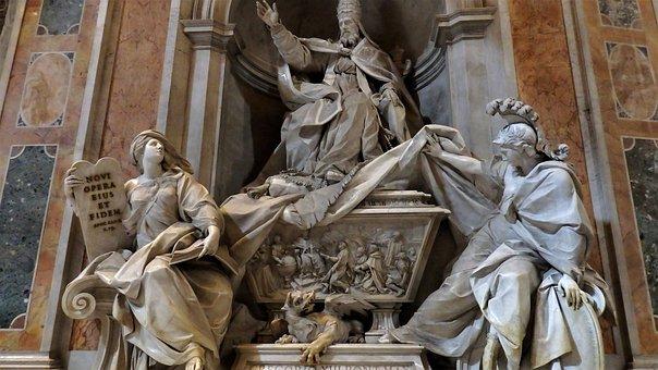 Sculpture, God, Religious, Symbol