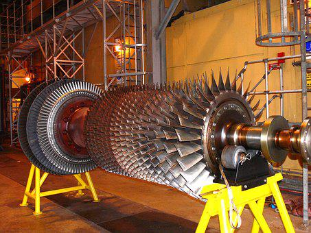 Generator, Turbine, Power Station, Repair