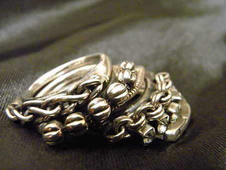 Silver Ring, Satin, Foppery