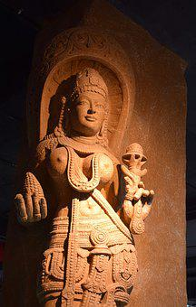 India, Sculpture, Breast Cancer, Goddess, Skincare