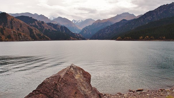 Tianshan, Tianchi Lake, Xinjiang, Mountain