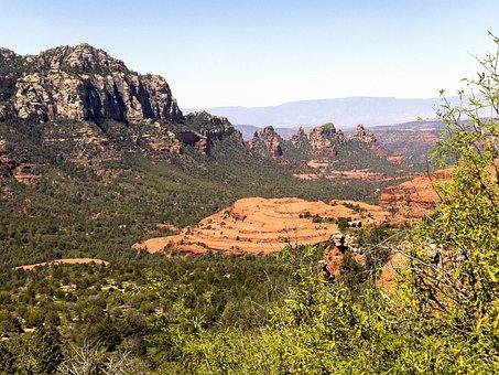 Canyon, Arizona, Rock, Southwest, Cathedral-canyon