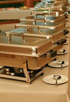 Chafing Dish, Gastronomy, Eat, Buffet, Celebration