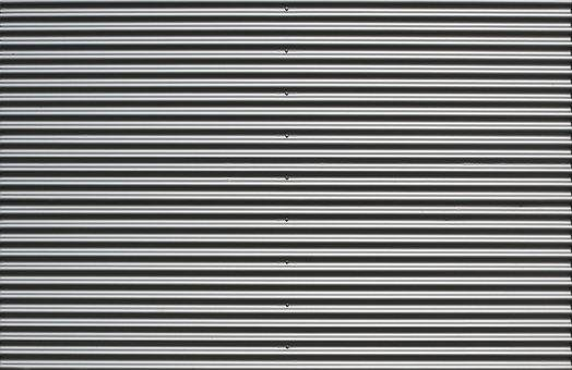 Facade, Profile Sheet, Sine-wave Profile, Aluminium