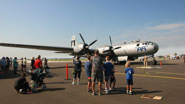 Fifi, Aircraft, Boeing, B-29, Superfortress