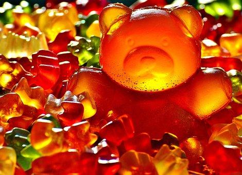Gummibärchen, Giant Rubber Bear, Sugar, Sweet, Haribo