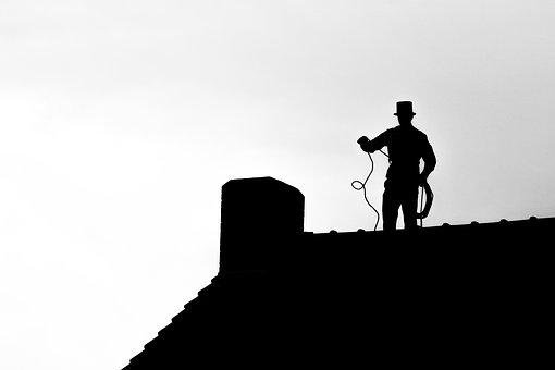 Chimney Sweep, Roof, Chimney, House Roof, Craft, Symbol