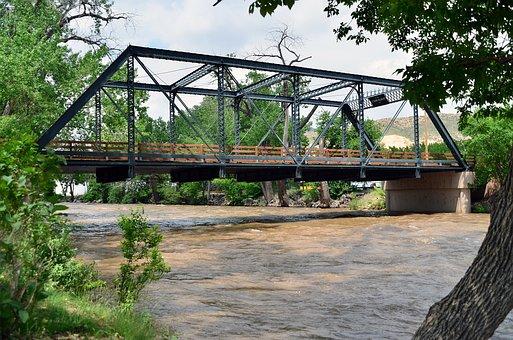 Bridge, River, Water, Travel, Architecture, Landmark