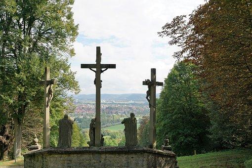 Hammelburg, Monastery, Saaleck, Germany, Religion, Holy