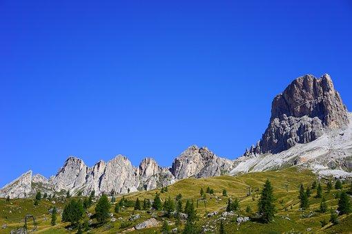 Monte Averau, Mountain Group, Ampezzo Dolomites