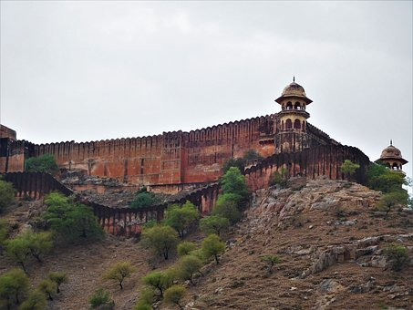 Amer Fort, Jaipur, Indian, Architecture, Rajasthan