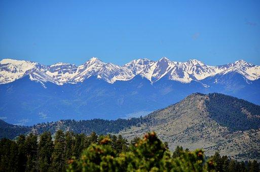 Mountain Range, Mountains, Range, Landscape, Nature