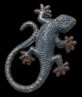 Lizard, Reptile, Wall Decoration, Art Object, Figure