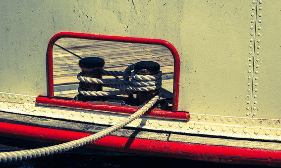 Boat Rope, Bug, Detail Of A Ship, Boot, Shipping, Port