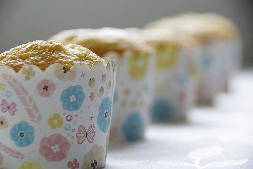 Cupcakes, Baking, Food, Dessert, Sweet, Snack