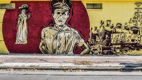 Street, Wall, Graffiti, Vintage, Old Age, Street Art