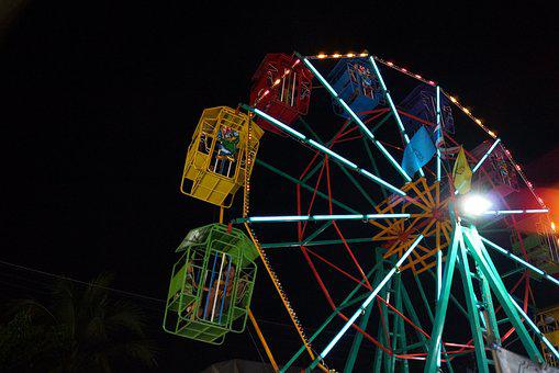 Ferris Wheel, Enjoy, Temple Fair, The Player, Tourism