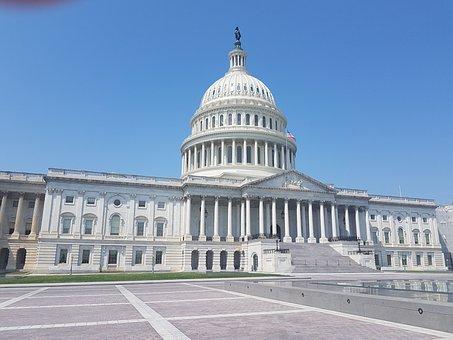 Usa, Capitol, America, Washington, United States