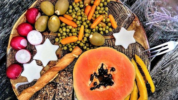 Eating, Vegetables, Food, Healthy, Vitamins, Fresh