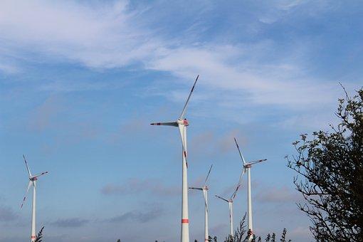 Pinwheel, Wind, Windräder, Wind Energy, Wind Power