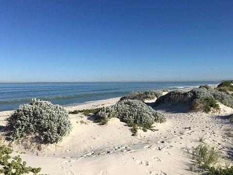 Beach, Blouberg, Africa, Sea, Capetown, Coast