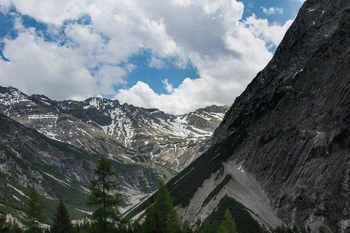 Mountains, Rocks, Alps, Inhospitable
