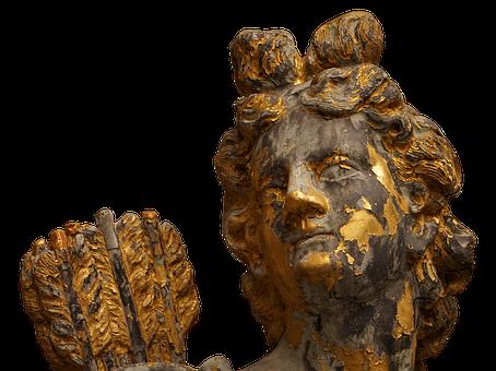 Figure, Gilded, Statue, Sculpture, Gold, Art, Golden