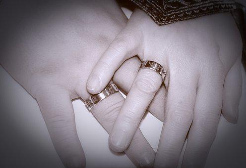 Hands, Rings, Background Image, Marry, Wedding, Love