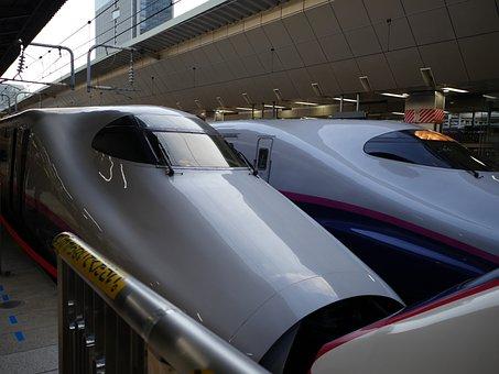 Bullet Train, Tokyo Station, Tohoku Shinkansen