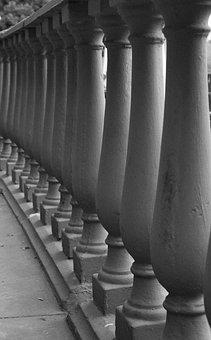 Pillars, Column, Stone, Structure