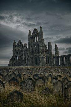 Gothic, Abbey, Whitby, Vampire, Dracula, Monastery