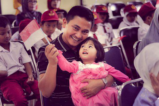 Father, Child, Princess, Funny, Baby, Girl, Parents