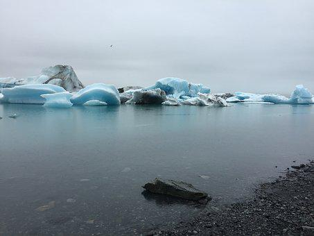 Iceberg, Iceland, Glacier