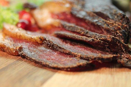 Food, Beef, Dried Meat, Jerky, Moist, Protein, Biltong