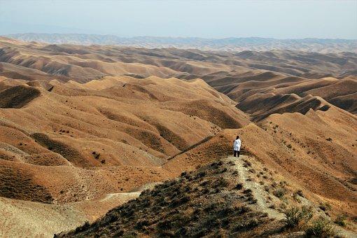 Iran, Golestan, Khaled Nabi, Erosion Landscape