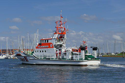 Sar, Lifeboat, North Sea, Bernhard Pits, Sea Rescue