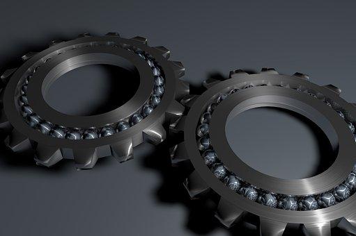 Bearing, Gear Rack, Metal, Bearing Ball, Technology