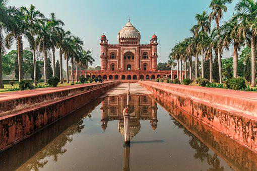 Humayun Tomb, Color Grading, Hd Picture, Nature