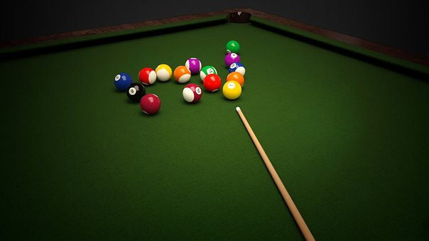 Billiards, Balls, Table, Cloth, Play, Sport, Leisure