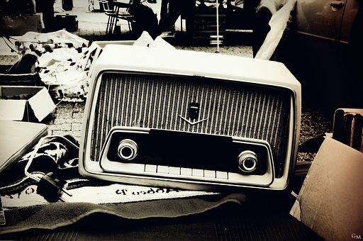 Radio, Nostalgia, Flea Market, Radio Device, Old